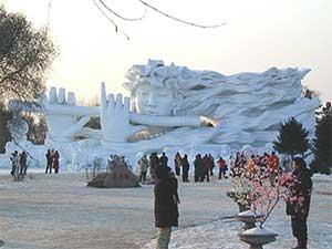 Escultura en hielo