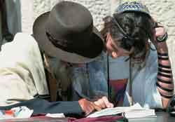 Judío estudiando