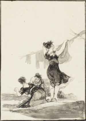 Hútiles trabajos, de Francisco de Goya.
