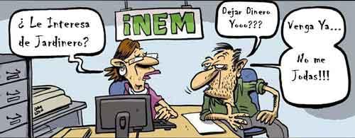 Un parao en el INEM