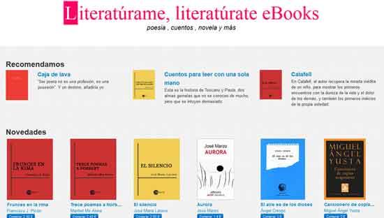 Literatúrame, literatúrate eBooks