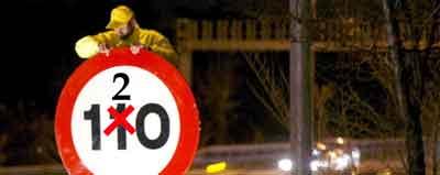 Velocidad en autovías y autopistas