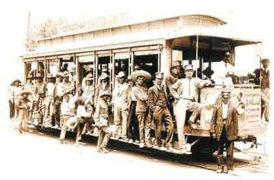 Tranvía antiguo
