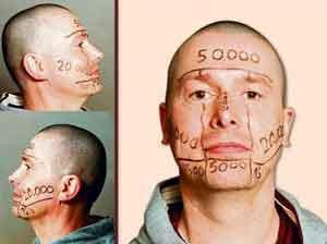 Un hombre vende su rostro a los anunciantes por 100.000 euros