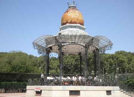 Quiosco de música de Zaragoza