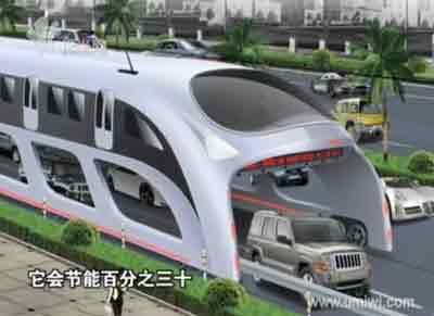 El Autobús Chino del Futuro