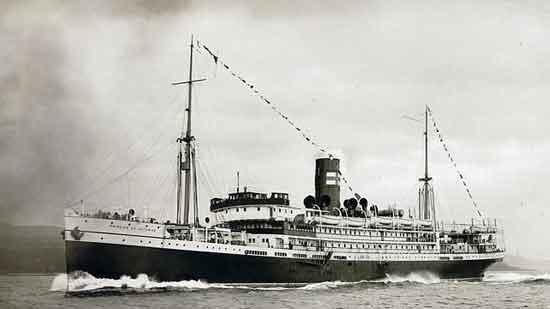 El vapor Príncipe de Asturias