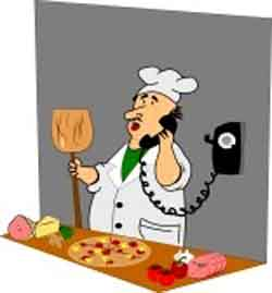 Preparando pizzas