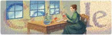 144 Aniversario del nacimiento de Marie Curie
