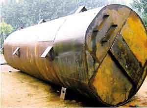 El tanque de agua transportará a una veintena de personas en el apocalipsis.