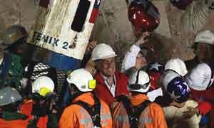 Exitoso rescate de los 33 mineros
