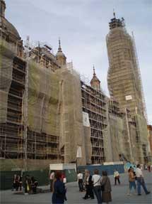Obras de el Pilar