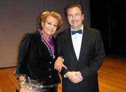 Rafael Castillejo y Carmen Sevilla