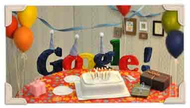13 Aniversario de Google