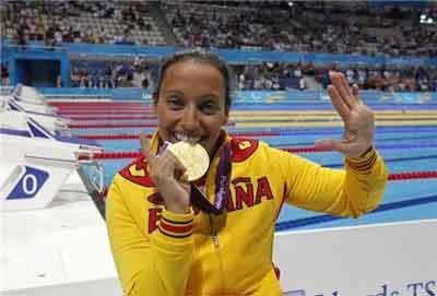 La nadadora Teresa Perales será la pregonera del Pilar 2012