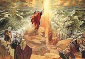 Moisés y el mar Rojo