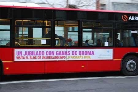 Unjubilado en el bus