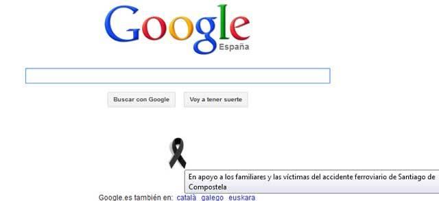 En apoyo a los familiares y las víctimas del accidente ferroviario de Santiago de Compostela