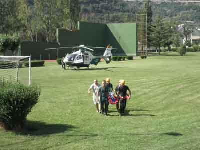 Camino de la ambulancia