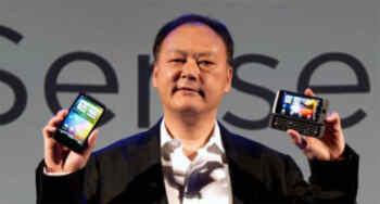 Peter Chou, máximo directivo de la multinacional HTC