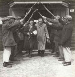Única boda celebrada en Auschwitz