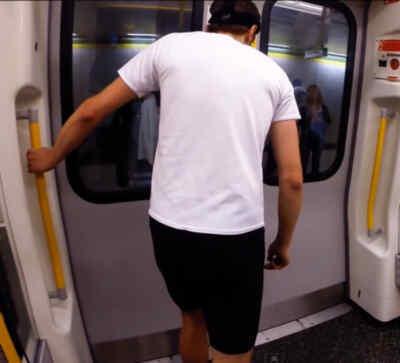 Una carrera contra el metro de Londres