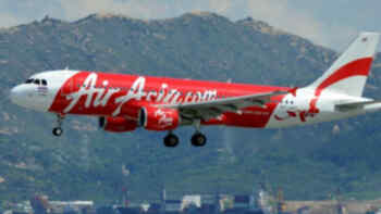 Air Asia, aerolínea de bajo costo.