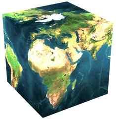 Tierra cuadrada