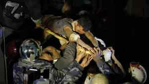 rescate nepal