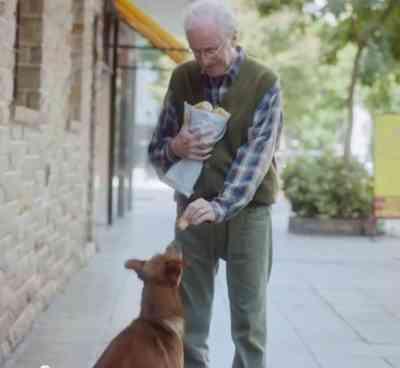 Un hombre y su perro