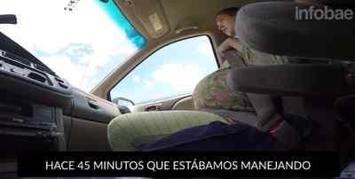Dando a luz en el coche