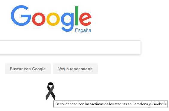 En solidaridad con las víctimas de los ataques en Barcelona y Cambrils